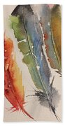 Feather Expressions Beach Towel