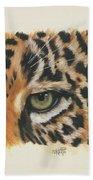 Eye-catching Jaguar Beach Towel