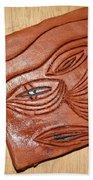Eye In Year 10 - Tile Beach Towel