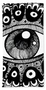 Eye Of March Beach Towel