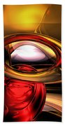 Eye Of The Gods Abstract Beach Towel