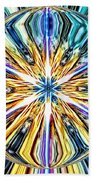 Eye Of The Portal 7th Dimension Activation 4 Beach Towel