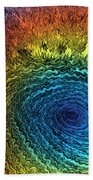 Eye Of The Storm Beach Towel