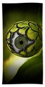 Eye Will See You In The Garden Beach Towel