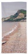Eype Beach Beach Towel