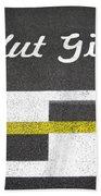 F1 Circuit Gilles Villeneuve - Montreal Beach Towel