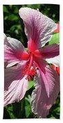 F5 Hibiscus Flower Hawaii Beach Sheet