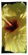 F9 Yellow Hibiscus Beach Sheet