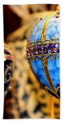 Faberge Holiday Eggs Beach Towel
