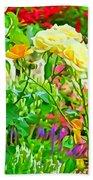 Fabulous Florals 333 Beach Towel