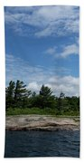 Fabulous Northern Summer - Georgian Bay Island Landscape Beach Towel