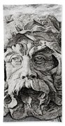 Father Time 2 Beach Towel