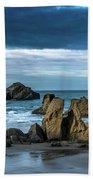 Face Rock Beach  Beach Towel