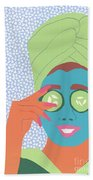 Facial Masque Beach Sheet