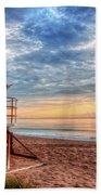 Facing The Dawn Beach Towel