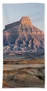 Factory Butte 0761 Beach Towel