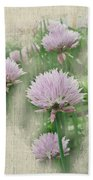 Faded Floral 11 Beach Towel