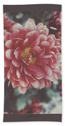 Faded Florals Beach Towel