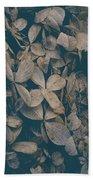 Faded Flowers Beach Sheet