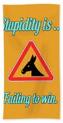Failing Bigstock Donkey 171252860 Beach Towel