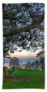 Fairhope Swing On The Bay Beach Towel