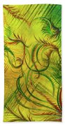 Fairies In The Garden Beach Towel
