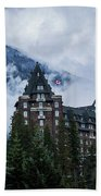 Fairmont Springs Hotel In Banff, Canada Beach Towel