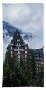 Fairmont Springs Hotel In Banff, Canada Beach Sheet