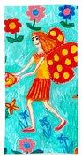 Fairy Cakes Beach Towel