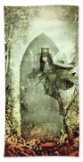 Fairy Cottage Beach Towel