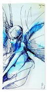Fairy Doodles Beach Towel