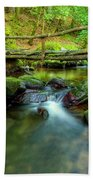 Fairy Glen Bridge Beach Towel