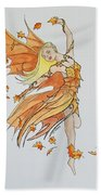 Fall Fairy Beach Towel