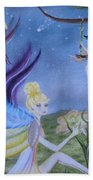 Fairy Play Beach Towel