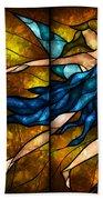 Fairy Tetraptych Beach Towel by Mandie Manzano