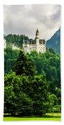 Fairytale Castle Neuschwanstein  Beach Towel