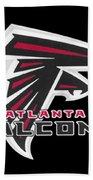 Falcons Atlanta T-shirt Beach Towel
