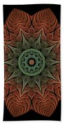Fall Blossom Zxk-4310-2a Beach Towel