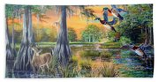 Fall Bounty- Big Cypress Swamp  Beach Towel