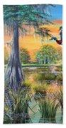 Fall Bounty- Big Cypress Swamp  Beach Towel