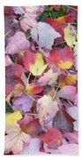 Fall Carpet Beach Towel