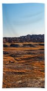 Fall Color In The Badlands Beach Towel