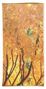 Fall Colors At Cape May Beach Towel