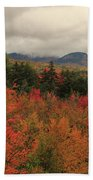 Fall Colors In White Mountains New Hampshire Beach Towel