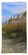 Fall Day On Tybee Island Beach Towel