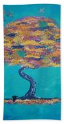 Fall Beach Towel