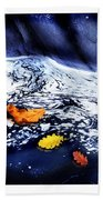 Fall Flotilla Beach Towel