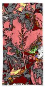 Fall Flourish Beach Towel
