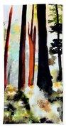 Fall Forest Beach Sheet