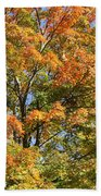 Fall Gradient Beach Towel